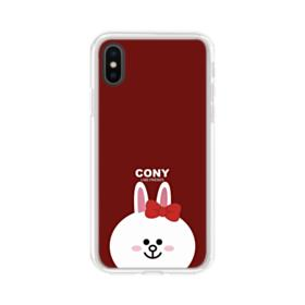 Cony Smiles iPhone XS Max Clear Case