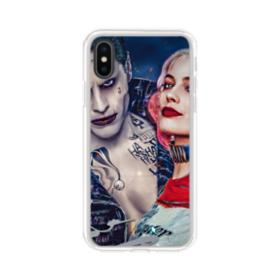 Harley Quinn And Joker iPhone XS Max Clear Case