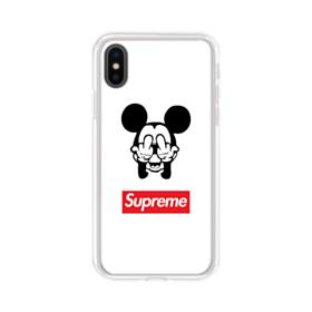Disney Mickey Mouse x Supreme iPhone XS Max Clear Case