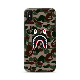 Bape shark camo print iPhone XS Max Hybrid Case