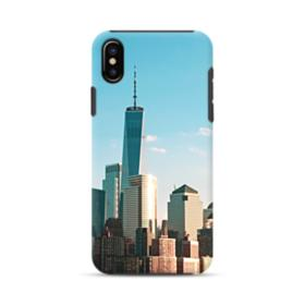 New York Skyline iPhone XS Max Hybrid Case