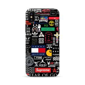 Logo Collage iPhone XS Max Hybrid Case
