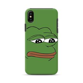 Sad Pepe frog iPhone XS Max Hybrid Case