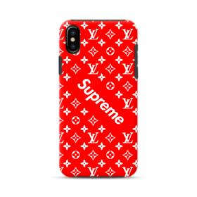 Supreme x Louis Vitton iPhone XS Max Hybrid Case