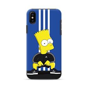 Simpson Bart X Adidas iPhone XS Max Hybrid Case