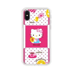 Hello Kitty Pinky White iPhone XS Clear Case