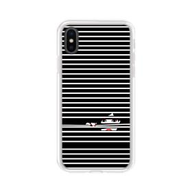 Girl Behind The Blinds iPhone XS Clear Case