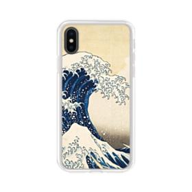 The Great Wave iPhone XS Clear Case