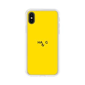 Hang iPhone XS Clear Case