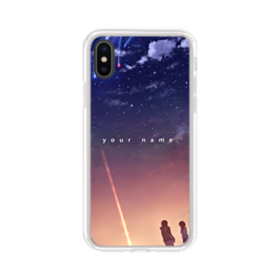 Your Name Anime iPhone XS Clear Case