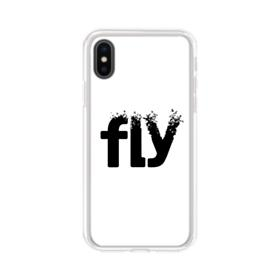 Birds Fly Sign iPhone XS Clear Case