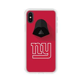 Star Wars x NY Giants iPhone XS Clear Case