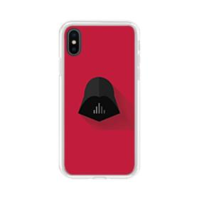 Abstract Star Wars Emblem iPhone XS Clear Case