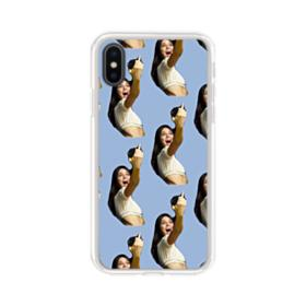 Kendall Jenner funny  iPhone XS Clear Case