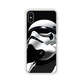 Star Wars Stormtrooper iPhone XS Clear Case