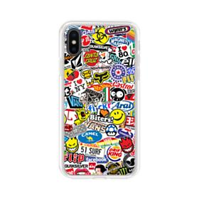 premium selection fe2cb 7f59d Stickers iPhone XS Clear Cases | CaseFormula