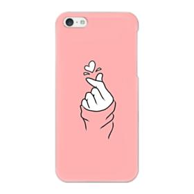 Snapping Finger A Heart iPhone 5C Case