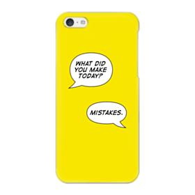 Make Mistakes iPhone 5C Case