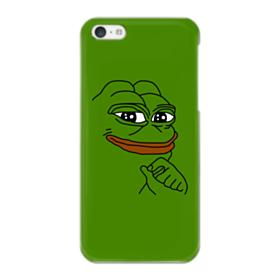 Smug Pepe Frog Funny Meme iPhone 5C Case
