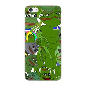 Rare pepe the frog seamless iPhone 5C Case