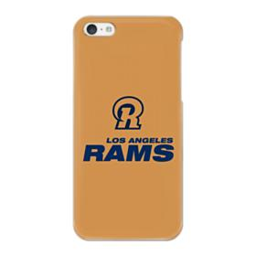 Los Angeles Rams Logo Gold iPhone 5C Case
