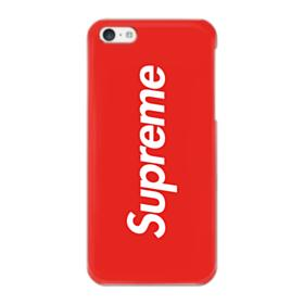 Red Supreme iPhone 5C Case