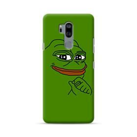 Smug Pepe Frog Funny Meme LG G7 Case