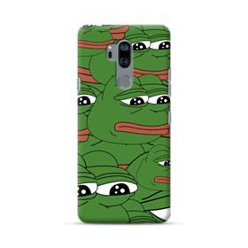 Sad Pepe frog seamless LG G7 Case