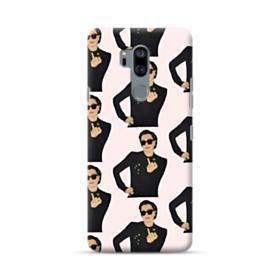 Kris Jenner middle finger meme LG G7 Case