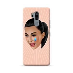 Crying Kim emoji kimoji LG G7 Case