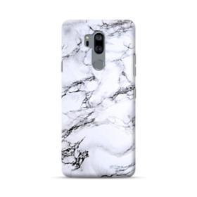 White Marble LG G7 Case