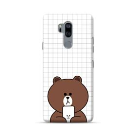 Brown Missing Cony LG G7 Case