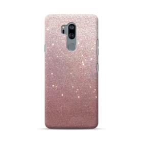 Rose Gold Glitter LG G7 Case