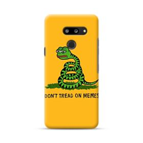 Pepe the frog don't tread on memes LG G8 ThinQ Case
