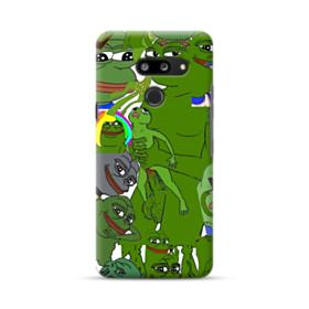 Rare pepe the frog seamless LG G8 ThinQ Case