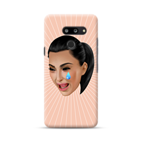Crying Kim emoji kimoji LG G8 ThinQ Case