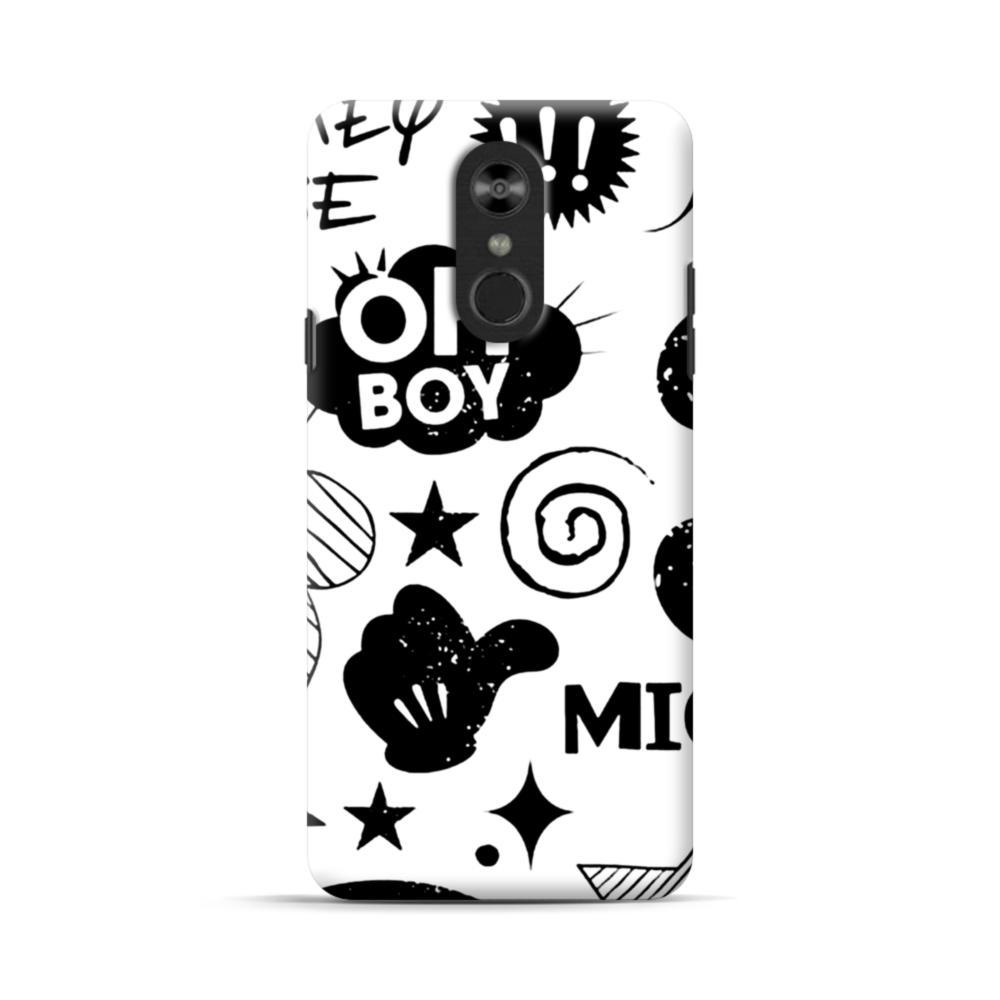 super popular 838e2 a6152 Oh Boy Graffiti LG Stylo 4 Case