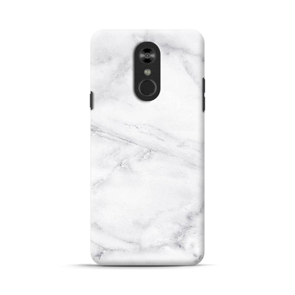 super popular ae400 a68e5 White Marble LG Stylo 4 Case