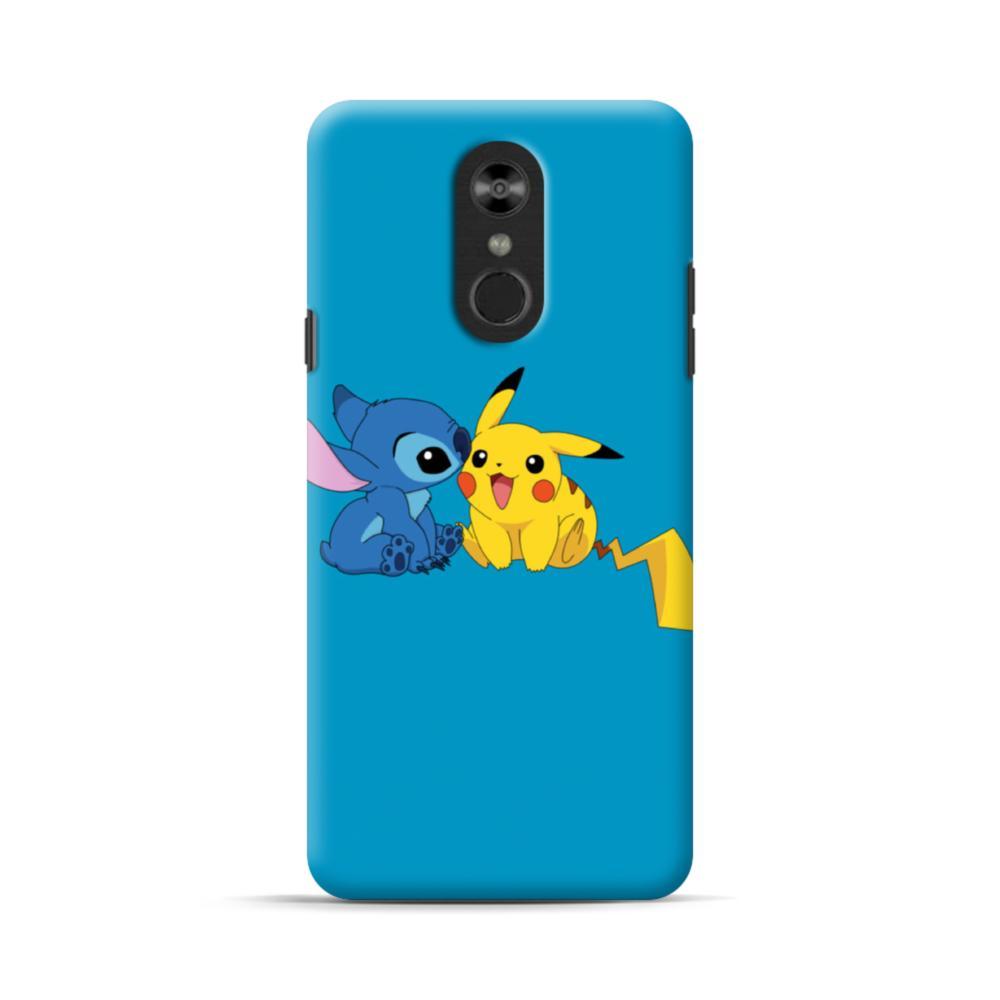 Stitch X Pikachu Lg Stylo 4 Case