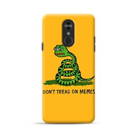 Pepe the frog don't tread on memes LG Stylo 4 Case