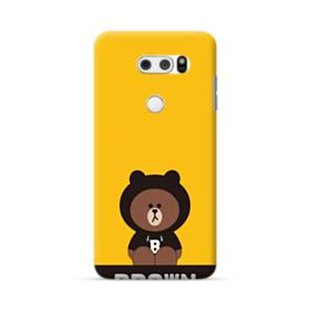 Line Friends Brown Give You Luck LG V30 Case