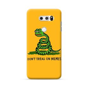 Pepe the frog don't tread on memes LG V30 Case