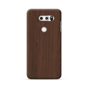Dark Coffe Wood  LG V30 Case
