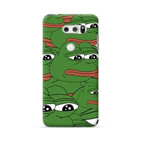 Sad Pepe frog seamless LG V30 Case