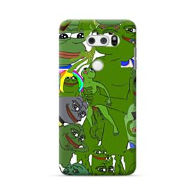 Rare pepe the frog seamless LG V30 Case