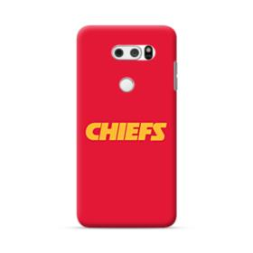 Chiefs Logo Red LG V30 Case
