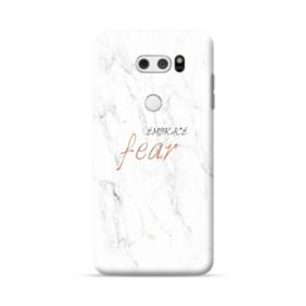 Embrace Fear Marble LG V30 Case