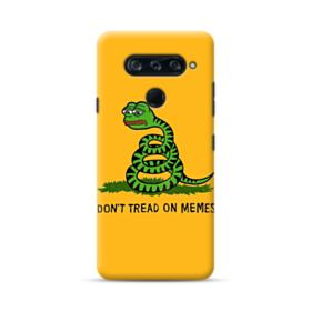 Pepe the frog don't tread on memes LG V40 ThinQ Case