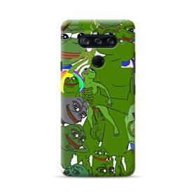 Rare pepe the frog seamless LG V40 ThinQ Case