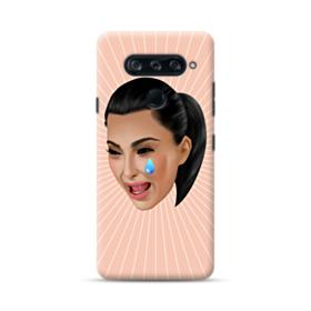 Crying Kim emoji kimoji LG V40 ThinQ Case
